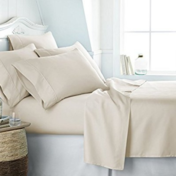 Luxury Linens KING Size Fancy Bed Sheets